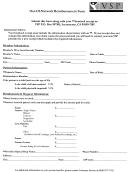 Out-of-network Reimbursement Form