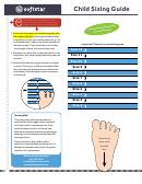 Softstar Child Shoe Sizing Guide