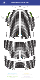 The Palace Theatre Seating Chart