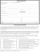 30-day Notice Form