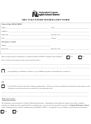 300a Volunteer Information Form