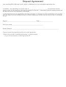 Deposit Agreement