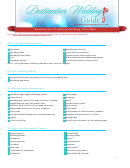 Destination Wedding Checklist printable pdf download