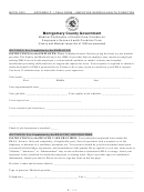 Medical Certification Of Health Care Provider For Employee's Serious Health Condition Form - Montgomery County Government