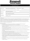 Director Of Dietary Services Job Description