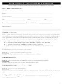 High School Student Resume Worksheet Template