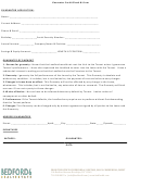 Guarantor Credit Check & Form