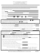 Form Ps-1040r - Texas Workforce Commission Refund Worksheet - Vocational Programs