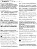 Schedule F Il-1040 Instructions - Illinois Department Of Revenue - 2013