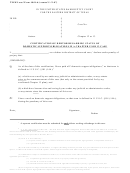 Certification Of Debtor Regarding Status Of Domestic Support Obligations In A Chapter 12 Or 13 Case