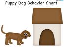 Puppy Dog Behavior Chart