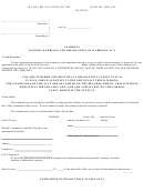 Summons Illinois Marriage And Dissolution Of Marriage Act