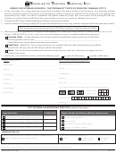 Order Form For Scoring Services - The Torrance Tests Of Creative Thinking