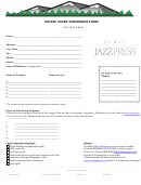Online Chart Submission Form - Unc Jazz Press