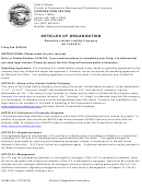 Form 08-484 - Articles Of Organization Domestic Limited Liability Company, Form 08-561 - Contact Information Sheet - 2013