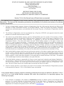 Articles Of Organization For A Domestic Limited Liability Company