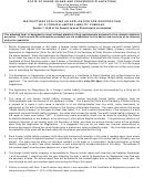 Form 450 - Llc Application For Registration - 2012