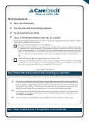 Application And Credit Card Account Agreement