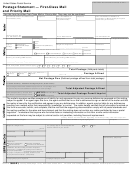 Ps Form 3600-r1 - Postage Statement - First-class Mail And Priority Mail
