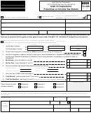 Utah S Corporation Franchise Or Income Tax Return 2000