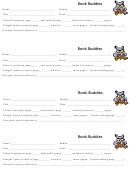 Book Buddies - Reading Log Template