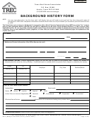 Background History Form