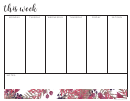 Weekly To Do List
