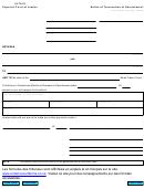Notice Of Termination Of Garnishment