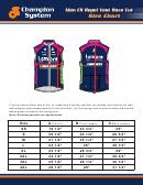 Men Cs Repel Vest Race Cut Size Chart