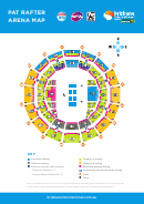 Pat Rafter Arena Map Seating Chart