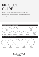 Emmapage Ring Size Guide