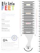 Fit Little Feet Kids Shoe Size Chart