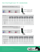 Equicrown Fit Horse Socks Size Chart