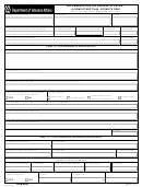 Va Form 10-2406 - Recommendation For Release Of Patient In Home Other Than Patient's Own