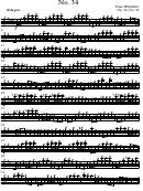 Allegro No 34 Franz Wohlfahrt Op45 No 34