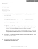 Form Nfp 110.30r - Articles Of Amendment Restated Articles Of Incorporation