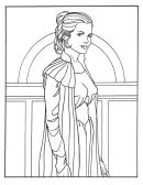 Star Wars Coloring Sheets Leya