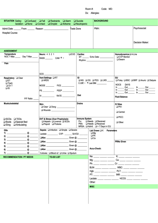 icu note template - 21 nursing templates free to download in pdf
