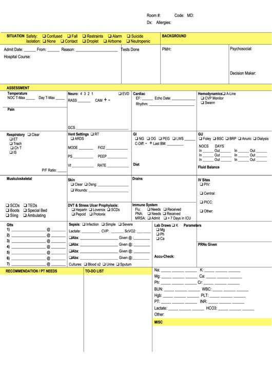icu brain template