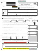 Form Tc-20s - Utah S Corporation Franchise Or Income Tax Return - 2007