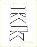 Letter K Alphabet Templates