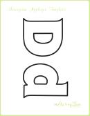 Letter D Alphabet Templates