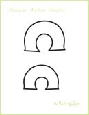Letter C Alphabet Templates