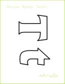 Letter T Alphabet Templates