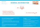 Normal Distribution - Studytime