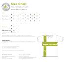 Greenlight Apparel Men/unisex & Youth Short Sleeve Shirts Size Chart