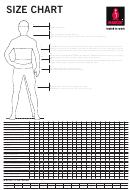 Mascot Clothing Size Chart