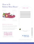 Robeez Mini Shoez Shoe Size Chart