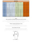 Archline Shoe Sizing Chart