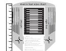 Men's Foot Size Chart